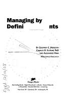 Managing by Defining Moments PDF