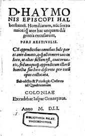 Homiliae nunc sexto majori diligentia excusae: Volume 2