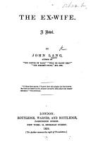 The Ex wife PDF