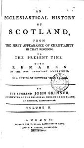 An ecclesiastical history of Scotland, in a series of letters