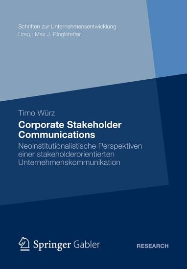 Corporate Stakeholder Communications PDF