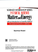 Physical Science: Matter and Energy