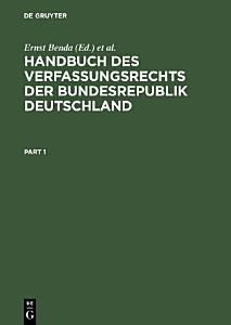 Handbuch des Verfassungsrechts der Bundesrepublik Deutschland PDF