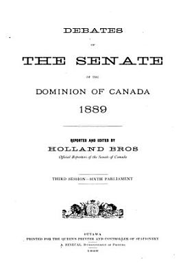 Debates of the Senate PDF