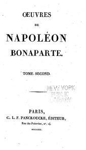 Oeuvres de Napoléon Bonaparte: Volume2