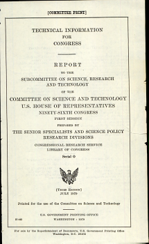 Technical Information for Congress PDF