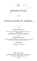 The Dispensatory of the United States of America PDF