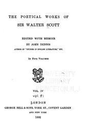 The Poetical Works of Sir Walter Scott: Volume 4