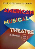 American Musical Theatre PDF