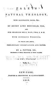 Paley's Natural Theology: Volume 1