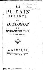La putain errante, ou dialogue de Madelaine et Julie