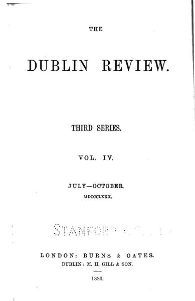 Download Dublin Review Book