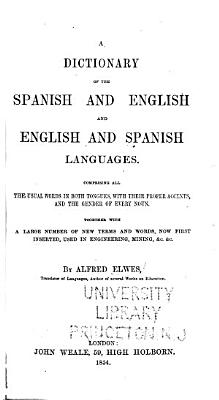 A Dictionary of the Spanish and English and English and Spanish Languages     PDF