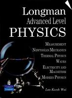 Longman Advanced Level Physics PDF