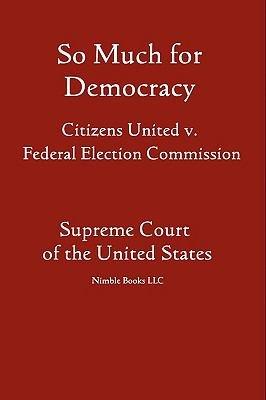 So Much for Democracy PDF