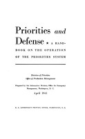 Priorities and Defense PDF