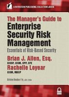 The Manager   s Guide to Enterprise Security Risk Management PDF