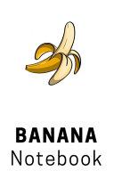 Composition Notebook: Banana Hawaii Art Notebook | 6x9 | Ruled Paper | Notebook | Notes