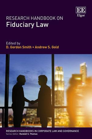 Research Handbook on Fiduciary Law