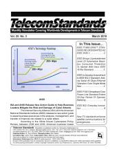 Telecom Standards Monthly Newsletter March 2010