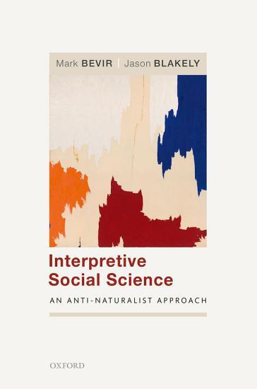 Interpretive Social Science PDF
