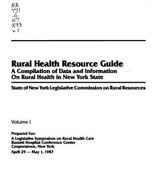 Rural Health Resource Guide