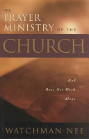 The Prayer Ministry of the Church PDF