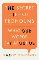 The Secret Life of Pronouns PDF