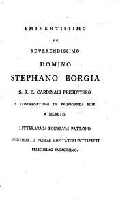 Eclogae physicae et ethicae: Ad Codd. Mss. Fidem Svppleti Et Castigati Annotatione Et Versione Latina Instrvcti. Pars ... Physica Continens, Τόμος 1,Τεύχος 1