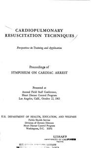Cardiopulmonary Resuscitation Techniques  Perspectives in Training and Application PDF