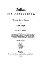 Julian der Abtrünnige: geschichtlicher Roman, Band 2