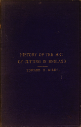 The History of the Art of Cutting in England PDF