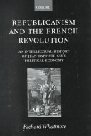 Republicanism and the French Revolution