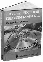 Jig and Fixture Design Manual PDF