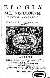 Elogia serenissimorum Sabaudiae ducum