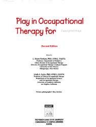 Play In Occupational Therapy For Children Book PDF