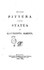 Della pittura e della statua di Leonbatista Alberti