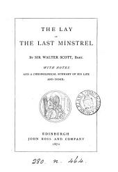 The lay of the last minstrel. With notes [&c.].