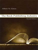 The Book Publishing Industry