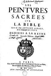 LES PEINTVRES SACRES SVR LA BIBLE