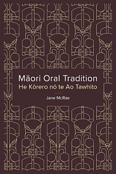 Maori Oral Tradition PDF