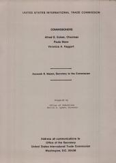 President's List of Articles which May be Designated Or Modified as Eligible Articles for Purposes of the U.S. Generalized System of Preferences: Report to the President on Investigation Nos. TA-503(a)-10 and 332-146