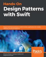 Hands On Design Patterns with Swift PDF