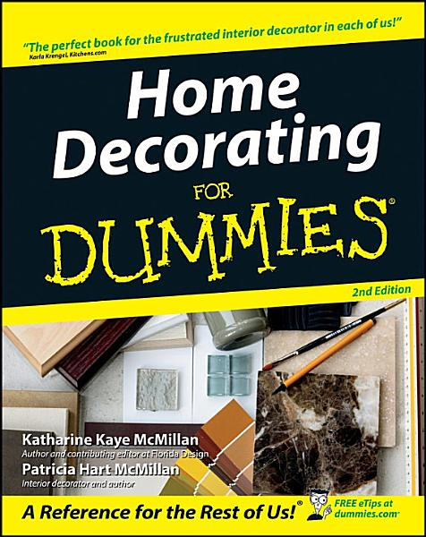 Download Home Decorating For Dummies Book