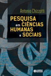 Pesquisa em ciências humanas e sociais