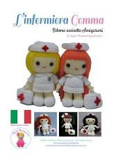 L'infermiera Gemma: Schema uncinetto Amigurumi