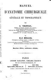 Manuel d'anatomie chirurgicale générale et topographique