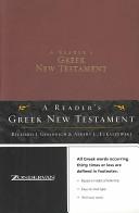 A reader s Greek New Testament