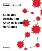 Sales and Distribution Analysis Module Reference for MicroStrategy Analytics Enterprise
