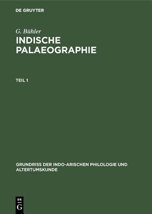 Indische Palaeographie PDF